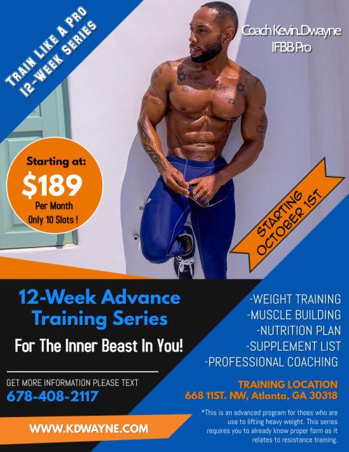 12 week Advance Training Series
